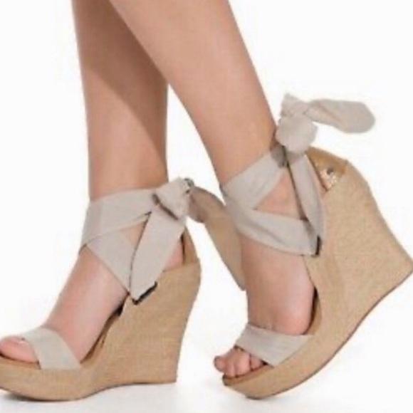 jules platform wedge sandal